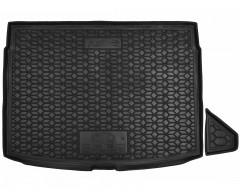 Коврик в багажник для Kia Ceed '19-, хетчбэк, верхняя полка, резиновый (AVTO-Gumm)
