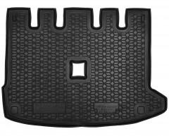 Коврик в багажник для Renault Lodgy '18-, с разд. сидушкой, резиновый (AVTO-Gumm)
