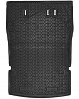 Коврик в багажник для Volkswagen Caddy Maxi '04-15, 5 мест резиновый (AVTO-Gumm)