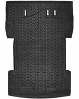 Коврик в багажник для Volkswagen Caddy Maxi '04-15, 7 мест резиновый (AVTO-Gumm)