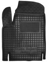 Коврик в салон водительский для Fiat Scudo '00-06, резиновый, черный (AVTO-Gumm)