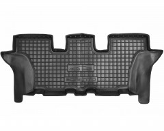 Коврики в салон для Kia Sorento '15-, резиновые, черные (AVTO-Gumm) 3-й ряд