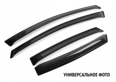 Дефлекторы окон для Chevrolet Aveo '06-11 T250 (REIN)