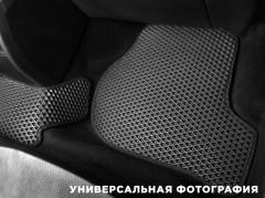 Фото 15 - Коврики в салон для Volkswagen Polo '10- седан, EVA-полимерные, черные с синей тесьмой (Kinetic)