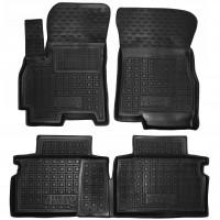 Коврики в салон для Chery Tiggo 4 '17-, резиновые, черные (AVTO-Gumm)
