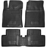 Коврики в салон для Kia Ceed '19-, резиновые, черные (AVTO-Gumm)