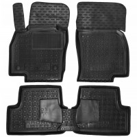 Коврики в салон для Seat Arona '17-, резиновые, черные (AVTO-Gumm)