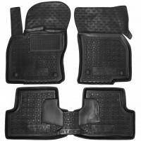 Коврики в салон для Seat Ateca '17-, резиновые, черные (AVTO-Gumm)