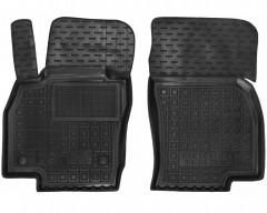 Коврики в салон передние для Seat Ibiza '17-, резиновые, черные (AVTO-Gumm)