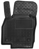 Коврик в салон водительский для Seat Ibiza '17-, резиновый, черный (AVTO-Gumm)