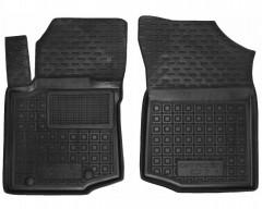 Коврики в салон передние для Citroen C-1 '15-, резиновые, черные (AVTO-Gumm)