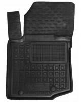 Коврик в салон водительский для Citroen C-1 '15-, резиновый, черный (AVTO-Gumm)