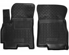 Коврики в салон передние для Chery Tiggo 4 '17-, резиновые, черные (AVTO-Gumm)