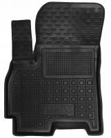 Коврик в салон водительский для Chery Tiggo 4 '17-, резиновый, черный (AVTO-Gumm)