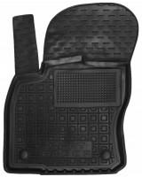 Коврик в салон водительский для Seat Ateca '17-, резиновый, черный (AVTO-Gumm)