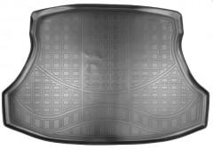 Коврик в багажник для Honda Civic 4D '12-17, полиуретановый (NorPlast) черный