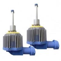 Автомобильные светодиодные лампочки ALed серия А H27 4000K (2шт)