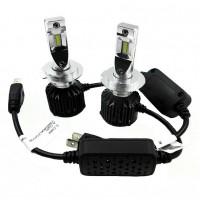 Автомобильные светодиодные лампочки ALed серия R H7 30Вт  6000K (2шт)