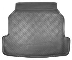 Коврик в багажник для Renault Latitude '10- (2.0L), полиуретановый (NorPlast) черный