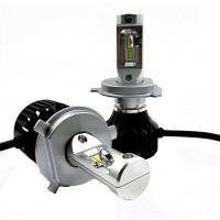 Автомобильные светодиодные лампочки ALed серия R H4 22 Вт 6000K (2шт)