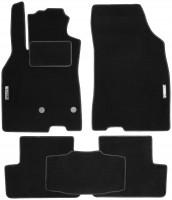 Коврики в салон для Renault Megane 3 '08-16, универсал текстильные, черные (Стандарт)