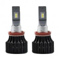 Автомобильные светодиодные лампочки ALed серия X H11 6000K (2шт)
