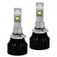 Автомобильные светодиодные лампочки ALed серия X HB3 С03 5000K (2шт)