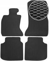 Коврики в салон для BMW 7 F02 '08-15, полный привод, EVA-полимерные, черные (Kinetic)