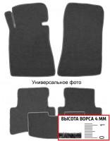 Коврики в салон для BMW 7 F02 '08-15, полный привод, текстильные, серые (Люкс)