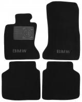 Textile-Pro Коврики в салон для BMW 7 F02 '08-15, полный привод, текстильные, черные (Премиум)