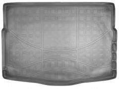 Коврик в багажник для Kia Ceed '12- хетчбэк с органайзером, полиуретановый,черный (NorPlast)