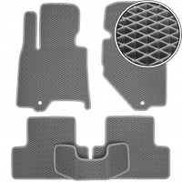 Коврики в салон для Infiniti EX (QX50) '08-17, EVA-полимерные, серые (Kinetic)