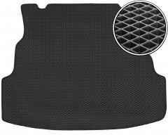 Коврик в багажник для Renault Symbol '08-12 седан, EVA-полимерный, черный (Kinetic)