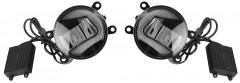 Противотуманные фары для Suzuki SX4 '11-14, светодиодные с DRL (LED-DRL)