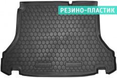Коврик в багажник для Daewoo Lanos / Sens '98- седан, резино-пластиковый (AVTO-Gumm)