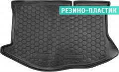 Коврик в багажник для Ford Fiesta '09-17 резино-пластиковый (AVTO-Gumm)