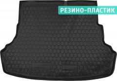 Коврик в багажник для Hyundai Accent (Solaris) '11-17 седан, резино-пластиковый (AVTO-Gumm)