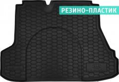 Коврик в багажник для Kia Cerato '09-13 резино-пластиковый (AVTO-Gumm)