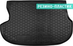 Коврик в багажник для Mitsubishi Outlander '03-07 резино-пластиковый (AVTO-Gumm)