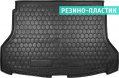 Коврик в багажник для Nissan X-Trail (T32) '14-16 резино-пластиковый (AVTO-Gumm)