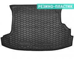 Коврик в багажник для Nissan X-Trail '01-07 резино-пластиковый (AVTO-Gumm)