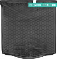 Коврик в багажник для Peugeot 301 '12- резино-пластиковый (AVTO-Gumm)