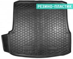Коврик в багажник для Skoda Octavia A5 '05-13 лифтбэк резино-пластиковый (AVTO-Gumm)