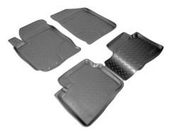 Коврики в салон для Hyundai Elantra HD '06-10 полиуретановые (Nor-Plast)