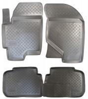 Коврики в салон для Hyundai Elantra XD '00-06 полиуретановые (Nor-Plast)