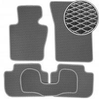 Коврики в салон для BMW X3 E83 '03-09, EVA-полимерные, серые (Kinetic)