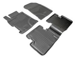 Коврики в салон для Honda Civic 4D '12-17 полиуретановые (Nor-Plast)