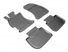 Коврики в салон для Subaru XV '11-16 полиуретановые (Nor-Plast)