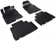 Коврики в салон для Opel Antara '12- полиуретановые, черные (Nor-Plast)