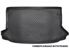 Коврик в багажник для Ssangyong Rexton '01-06, полиуретановый (Novline / Element) черный